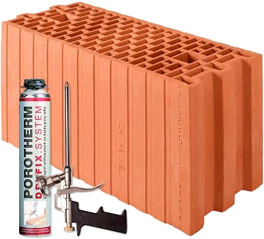 Porotherm 18.8 DRYFIX